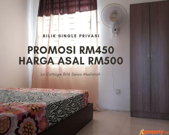 Fully Furnished Single Room for Privacy Puchong Selangor | Aproperty.my